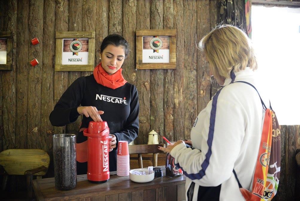 Pullman, Nescafé e ZH no Parque Harmonia.