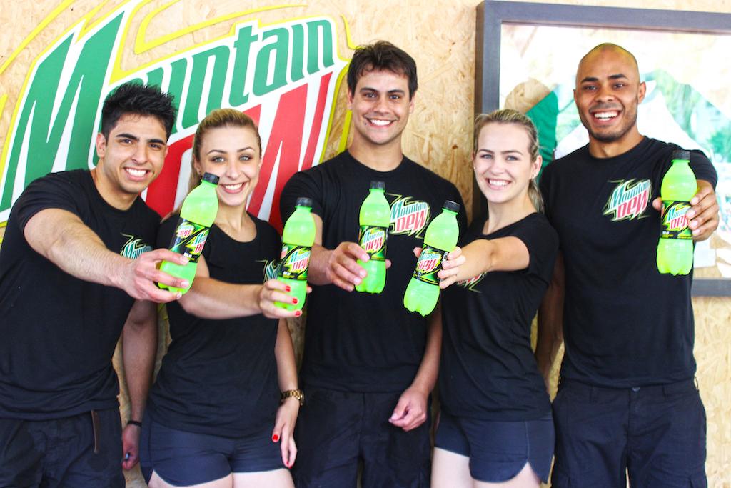 Lançamento Moutain Dew no Matriz Skate Pro 2015